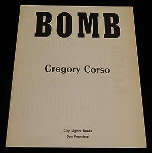 BOMB: Gregory Corso