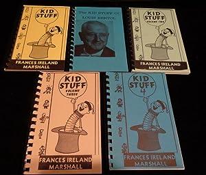 KID STUFF (Five Volumes Complete): Frances Ireland Marshall