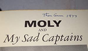 MOLY AND MY SAD CAPTAINS: Thom Gunn