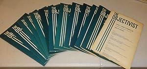 THE OBJECTIVIST 1967 (Twelve Vols.): Ayn Rand, Editor