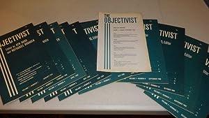 THE OBJECTIVIST 1968 (11 of 12 vols.): Ayn Rand, Editor