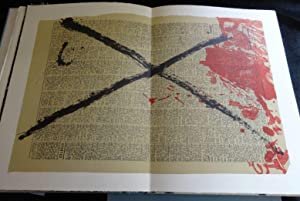 ENCRES ET COLLAGES (Limited Edition): Tapies (SIGNED)