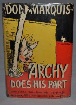 ARCHY DOES HIS ART: Don Marquis