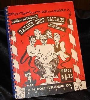 COLES BARBER SHOP BALLADS: Westley, Ozzie (Arranger)
