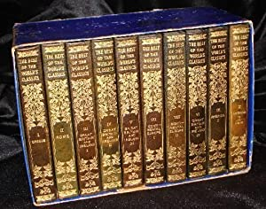THE BEST OF THE WORLD'S CLASSICS (10 Volumes, Half Leather): Henry Cabot Lodge, ...