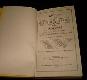 THE CHICAGO ALMANAC FOR 1876