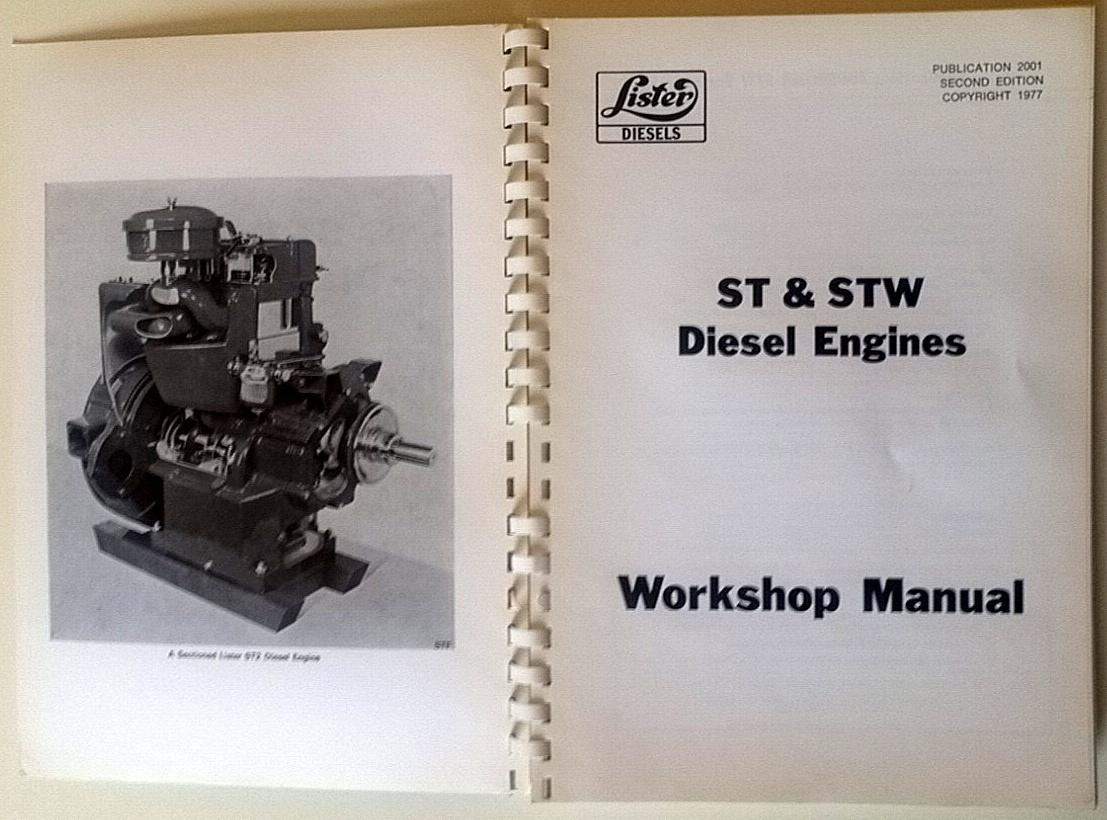 ... LISTER ST & STW INDUSTRIAL-MARINE DIESEL ENGINES (including ST MEU):  Lister ...