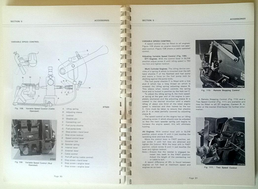 Lister Starter Motor Wiring Diagram : Restoration challenge lister bruston a working paper