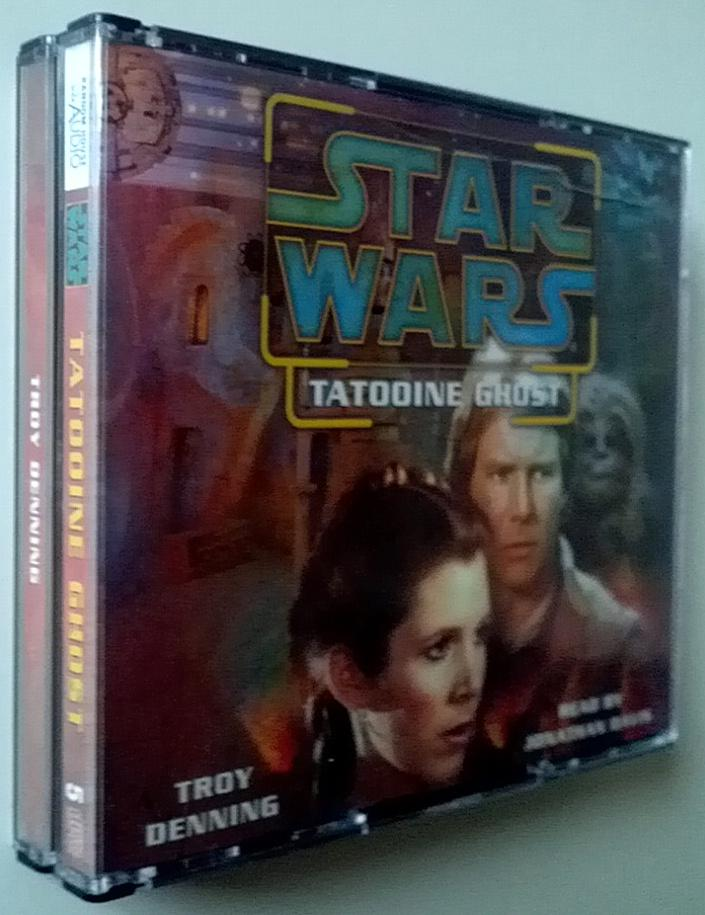 Star Wars Tatooine Ghost Audio CD Book (5 CD