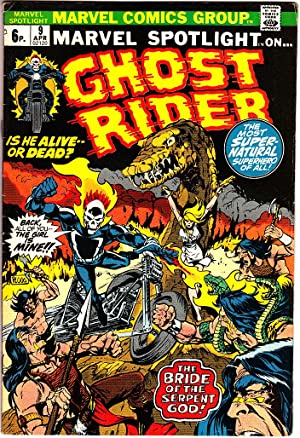 MARVEL SPOTLIGHT ON: GHOST RIDER Vol 1: Writer: Gary Friedrich.