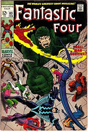 FANTASTIC FOUR Vol 1 #83 Feb 1969: Stan Lee. Artist: