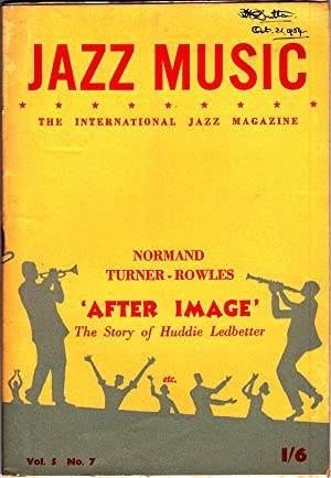 JAZZ MUSIC: Vol 5, No. 7, 1954: Editor: Steve Lane