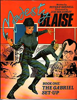 Modesty Blaise: Gabriel Set-up Bk. 1 (Paperback): O'Donnell, Peter