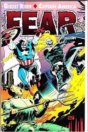 GHOST RIDER/CAPTAIN AMERICA: FEAR (TPB): Mackie, Howard/Lee Weeks