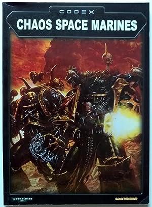 CODEX CHAOS SPACE MARINES WARHAMMER 40,000 (RULEBOOK: Games Workshop
