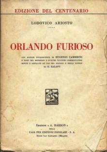 Orlando furioso: Ariosto Lodovico