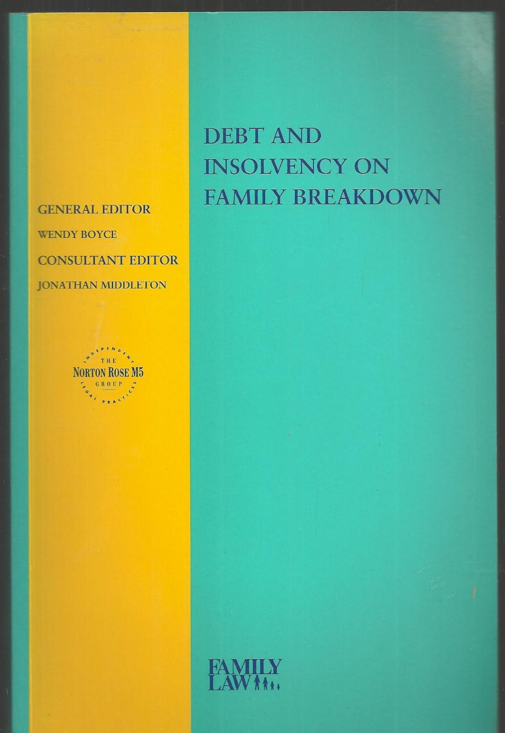 Debt and Insolvency on Family Breakdown