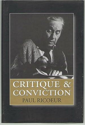 Critique and Conviction: Ricoeur, Paul