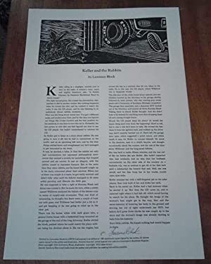 Keller and the Rabbits [Signed Limited Ed]