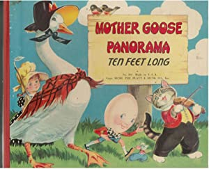 MOTHER GOOSE PANORAMA Ten Feet Long 1950 The Platt & Munk Co.: Co., Platt & Munk