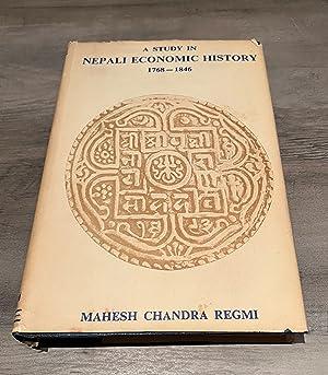 A study in Nepali economic history, 1768-1846: Regmi, Mahesh C.