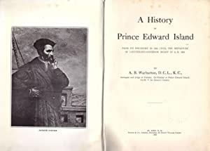A history of Prince Edward island from: Warburton, A. B.
