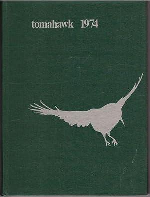1974 Ponaganset High School Tomahawk Yearbook Foster-Glocester Rhode Island RI: Yearbook Staff