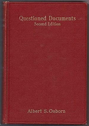 Questioned Documents with Citations of Discussions of: S, Osborn Albert