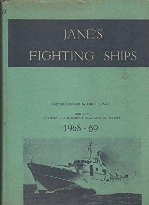 Jane's Fighting Ships 1968-69 (NOTE: Illegal Taiwanese copy): Blackman, R V B