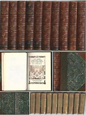 Works of Kate Douglas Wiggin Leather bound 1917 Quillcote Ed Complete 10-Volume Set: Wiggin, Kate ...