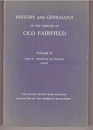 History and Genealogy of Families of Old: Donald L Jacobus,