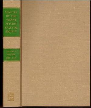 Minutes of the Vienna Psychoanalytic Society, Vol.