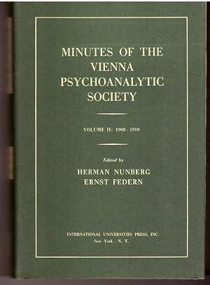 Minutes of the Vienna Psychoanalytic Society: Volume: NUNBERG, Herman; Ernest