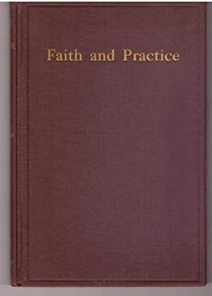 Faith and Practices of New England Yearly Meeting of Friends Christian Discipline 1st Edition