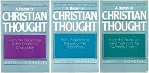 A History of Christian Thought (3 Volume Set)