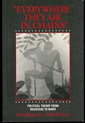 Everywhere they are in chains: Political theory from Rousseau to Marx