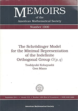 1000: The Schrodinger Model for the Minimal Representation of the Indefinite Orthogonal Group O (...