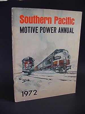 Southern Pacific Motive Power Annual 1972: Strapac, Joseph A.