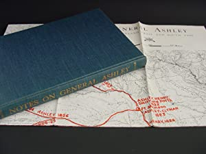 General Ashley : Overland Trail And South Pass ( Folding Map Included): Frost, Donald Mckay