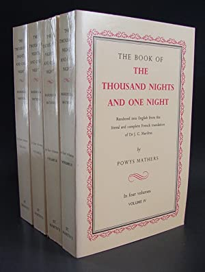 Book Of The Thousand Nights And One Night (Complete Set): Mathers, Powys