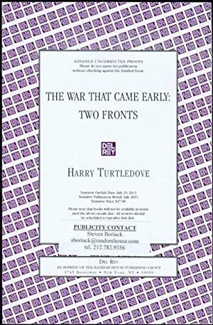 The War That Came Early: Two Fronts: Turtledove, Harry