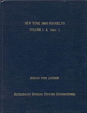 New York 1860 Brooklyn: Kings and Queens: Jackson, Ronald Vern