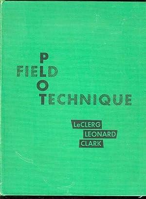 Field Plot Technique: Erwin L. LeClerg,