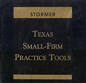 Texas Small Firm Practice Tools (Volumes 1&2)