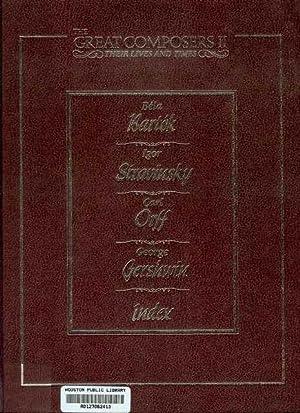 Bela Bartok 1881-1945 / Igor Stravinsky 1882-1971: Laura Buller, David