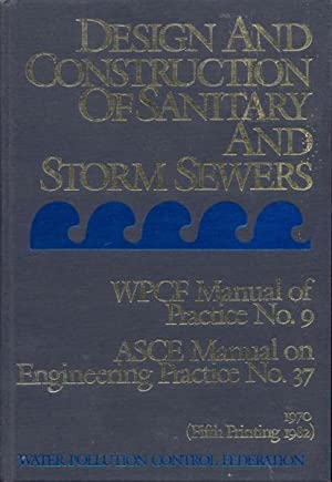 Design and Construction of Sanitary and Storm: American Society of