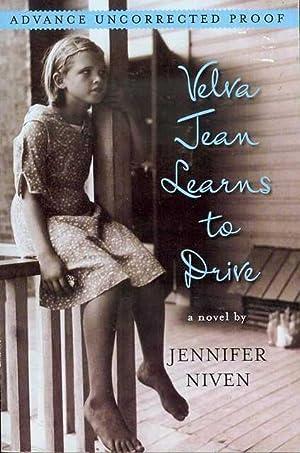 Velva Jean Learns to Drive: Niven, Jennifer