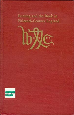 Printing and the Book in Fifteenth-Century England