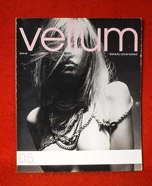 Vellum: Beauty Uncensored No. 05 (magazine): Cardella, Avis (editor)