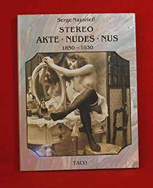 Stereo: Akte - Nudes - Nus - 1850 - 1930: Nazarieff, Serge